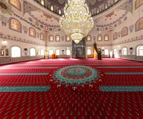 Antalya Muratpaşa Muradiye Caminin tercih etmiş olduğu saflı ve göbekli cami halısı montajı tarafımızdan yapılmıştır. Bizi tercih ettikleri için Antalya Muratpaşa Muradiye Camine teşekkür ederiz.