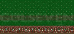 Saflı Cami Halısı Yeşil - GH 1050