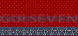Saflı Cami Halısı Kiremit - GH 1050