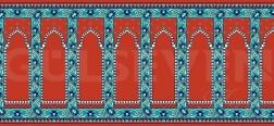 Seccadeli Cami Halısı Kırmızı - GH 2010