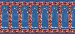 Seccadeli Cami Halısı Mavi - GH 2010