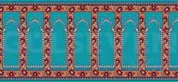 Seccadeli Cami Halısı Turkuaz - GH 2010