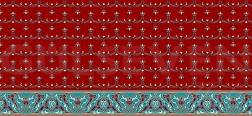 Saflı Cami Halısı Kiremit - GH 1020