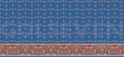 Saflı Cami Halısı Mavi - GH 1020