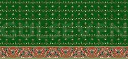 Saflı Cami Halısı Yeşil - GH 1020