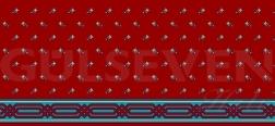 Saflı Cami Halısı Kiremit - GH 1080