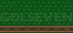 Saflı Cami Halısı Yeşil - GH 1080