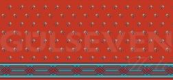 Saflı Cami Halısı Kırmızı - GH 1080